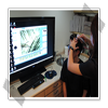 利用頭皮檢測儀先分區算出頭髮密度。