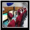 此階段需要較多的分髮技術員進行專業的顯微分髮。